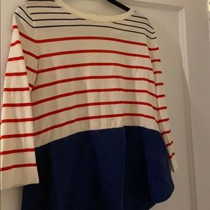 Small COS striped shirt